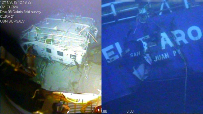 Investigators: Recovering El Faro Recorder Will Be Challenge