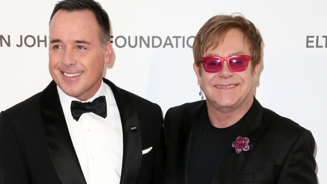 Elton John to Marry Partner David Furnish in May