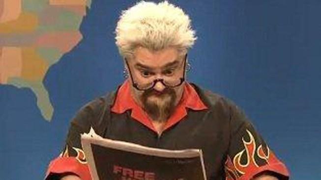 SNL Releases Unaired Guy Fieri Sketch