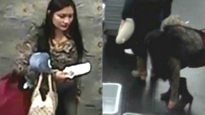 Woman Suspected of Stealing Diamond Rings at Airport Checkpoint, Authorities Say