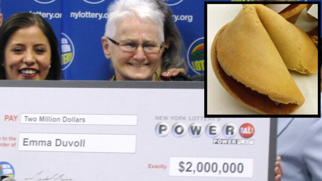 Woman Wins $2M in Lottery With Fortune Cookie Numbers