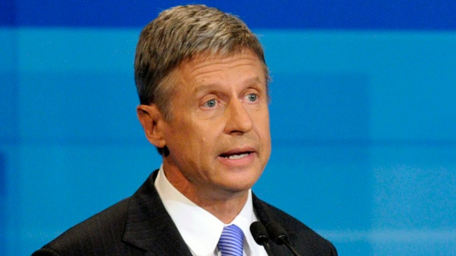 Libertarian Presidential Candidate Makes Pitch to Florida Voters