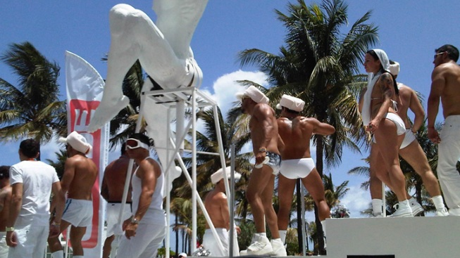 Gay Pride Parade Underway In Miami Beach