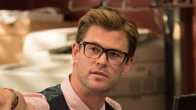 First Look at Chris Hemsworth in 'Ghostbusters' Reboot