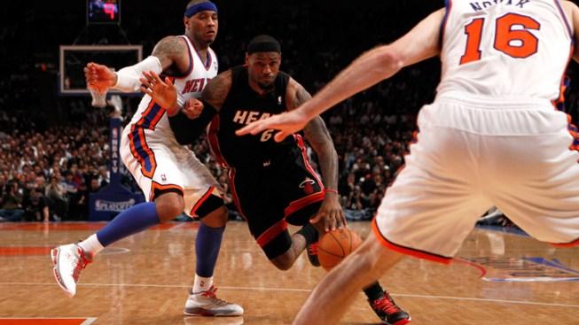 Miami Seeks Quick Finish to Heat-Knicks Series