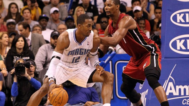 Heat Looking to Contain Howard in Final Regular Season Matchup With Magic
