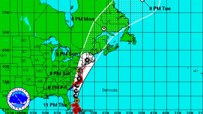Irene Aims Fury at North Carolina Coast