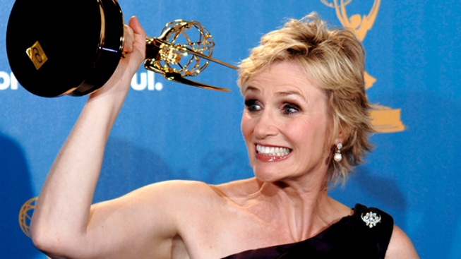 Jane Lynch Promises to Leave Sue Sylvester Home On Emmy Night