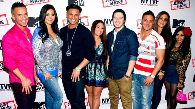 "MTV's ""Restore the Shore"" Special: ""Jersey Shore"" Cast Visit After Sandy's Destruction"