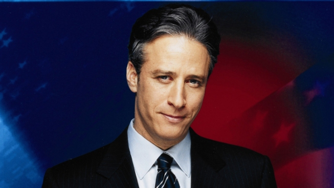 Stewart Cuts Hand, Bleeds, in Fake Weiner-gate Conference
