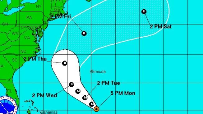 Hurricane Katia Strengthens