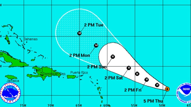 Katia Becomes A Tropical Storm Once Again