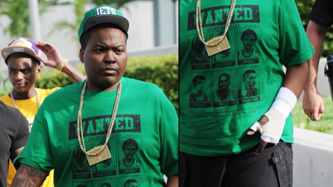 Sean Kingston Back to Work In Miami
