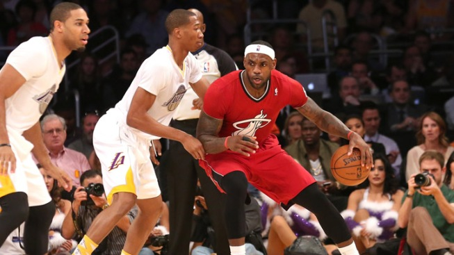 Heat Take Sixth Straight With 101-95 Win Over Lakers