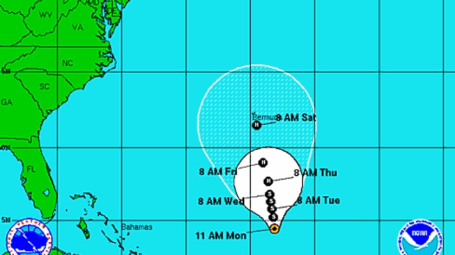 Swells From Tropical Storm Leslie May Reach Central Florida, Kirk Downgraded