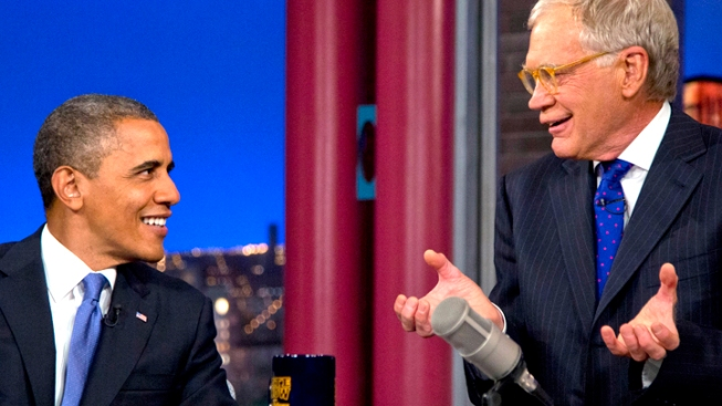 Why Barack Obama and David Letterman Make a Great Match