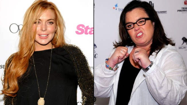 """Rosie O'Donnell Clarifies Lohan Criticism on """"Today"""""""