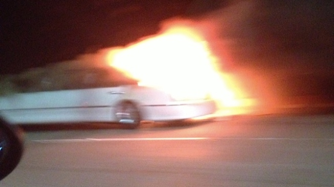 5 Women Die in Limousine Fire on Calif. Bridge