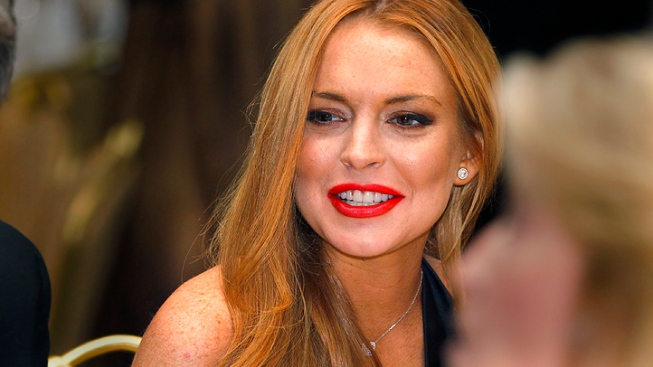 "Lindsay Lohan ""Fine"" Following Reports of Hospitalization"
