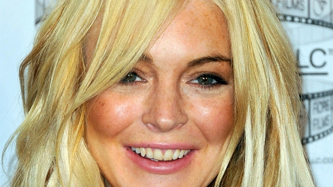 Lindsay Lohan Tattoos Billy Joel Lyrics to Side