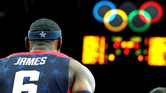 LeBron Records First Olympic Triple-Double As Team USA Beats Aussies