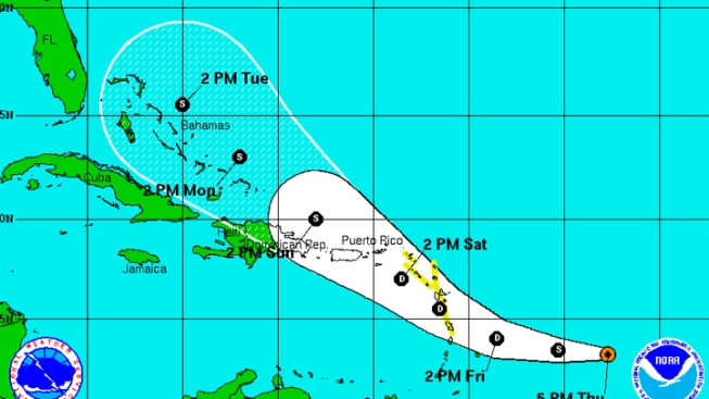 Maria Speeds Through Atlantic, Katia Moves On