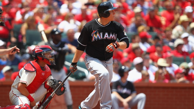 St. Louis Cardinals Beat Miami Marlins 5-4 on Stanton Error