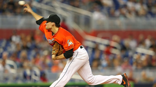 Miami Marlins Tie Champion Boston Red Sox 0-0 in Rain-Shortened Game