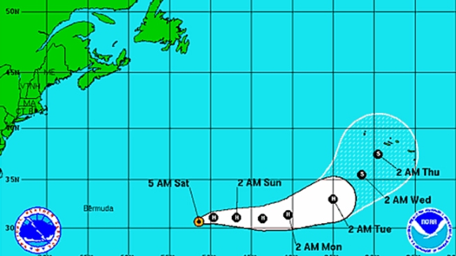 Little Change in Strength Expected for Hurricane Nadine: NOAA