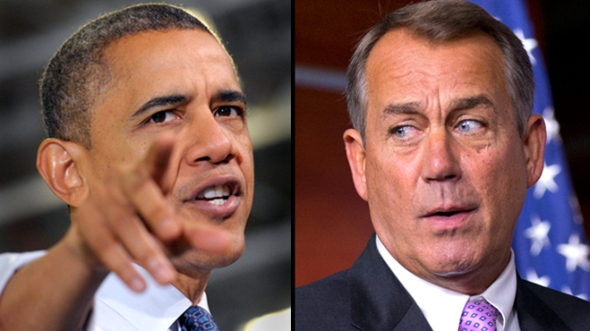 """Boehner: """"Serious Differences"""" Remain Between White House, GOP on Fiscal Cliff"""