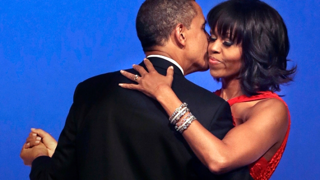 "Obama, First Lady Dance to ""Let's Stay Together"""