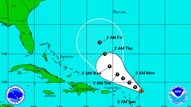 Ophelia 'Barely' a Tropical Cyclone