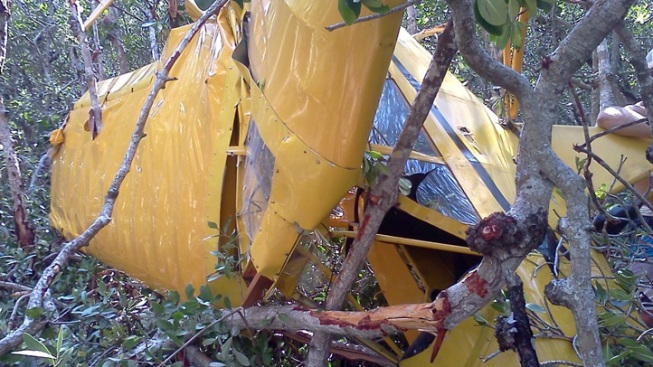 Small Plane Crashes Into Mangroves: FWC