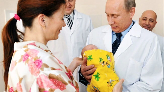 Putin Says Russian Boy, Not Filipino, Is World's No. 7 Billion