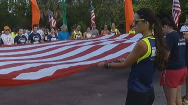Money Run in Key Biscayne Honors Victims of Boston Marathon Attack
