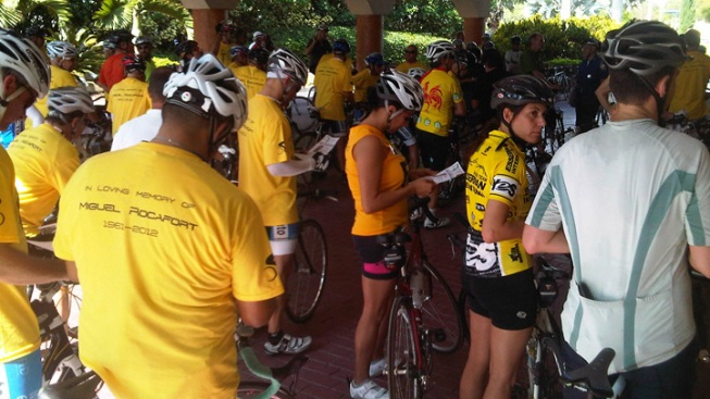 Memorial Ride for Cyclist Killed in Hit and Run