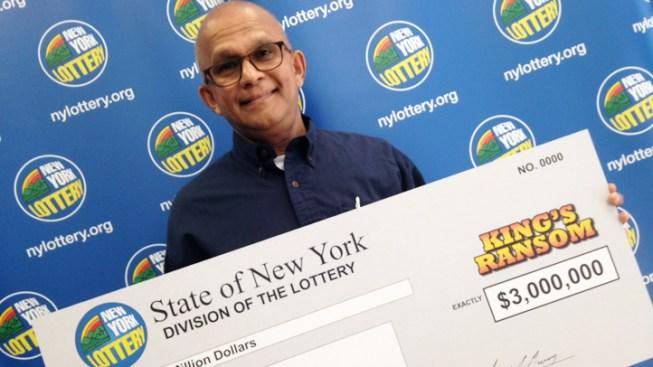 Security Guard Wins $3M on Lunch Break Lottery Ticket