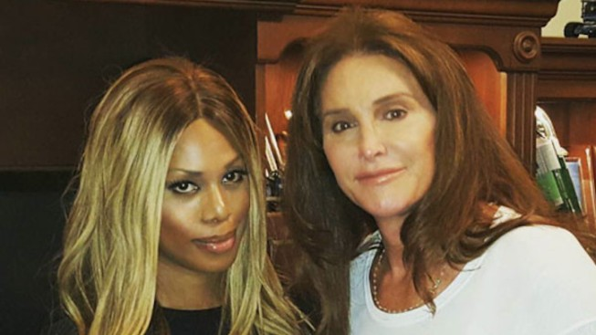 Laverne Cox 'Finally' Meets Caitlyn Jenner at Private 'I Am Cait' Screening