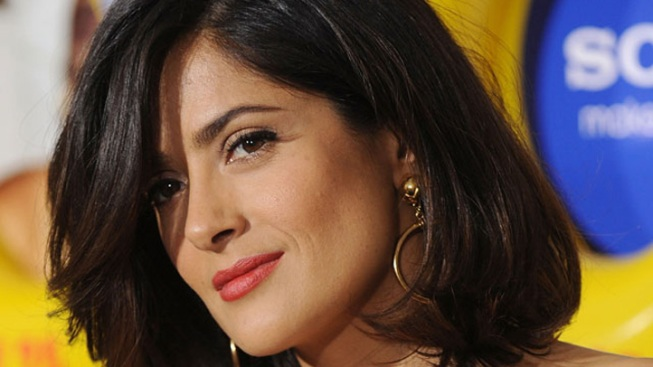 "Salma Hayek to be ""Knighted"" in France"