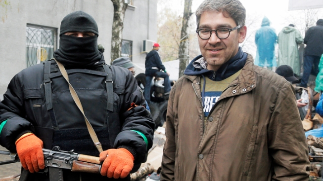 "NY Journalist Held in Ukraine: I Had It ""Easy"""