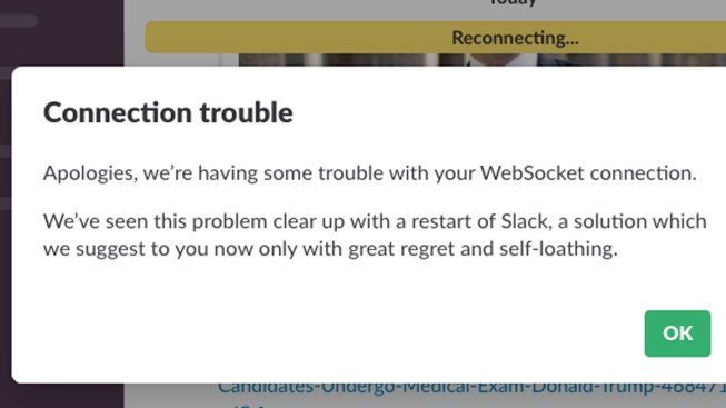 Work World Roasts Slack on Twitter Amid Outage Reports