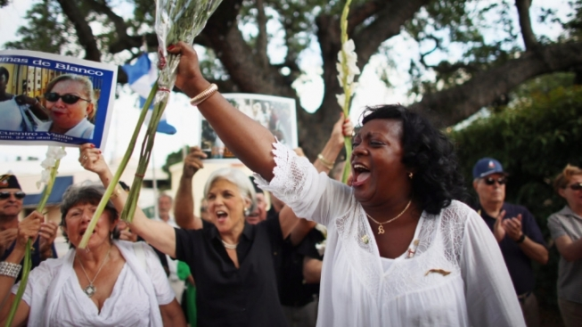Cuban Opposition Group Ladies in White Leader Berta Soler Visits University of Miami
