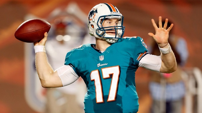 Marino: Dolphins' Tannehill Not Totally To Blame for INTs