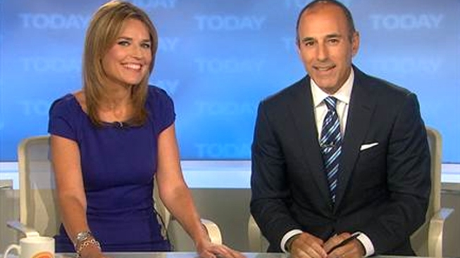 "Savannah Guthrie Welcomed as ""Today"" Host"
