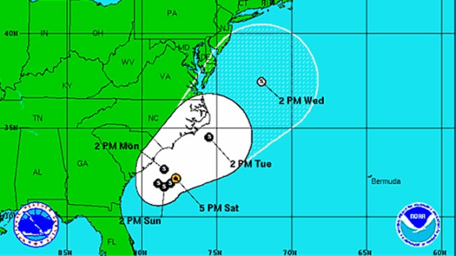 First Tropical Storm of the 2012 Hurricane Season Named Alberto