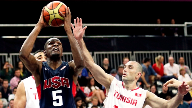 U.S. Men Pull Away for 110-63 Basketball Blowout over Tunisia