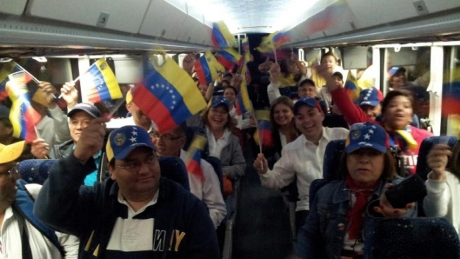 South Florida Venezuelans Head to New Orleans to Vote in Presidential Election Following Hugo Chavez Death