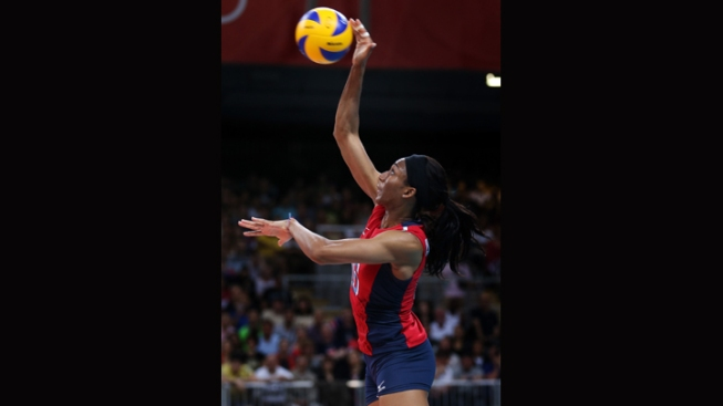 USA Women's Volleyball Team Takes Silver, Loses to Brazil in Finals