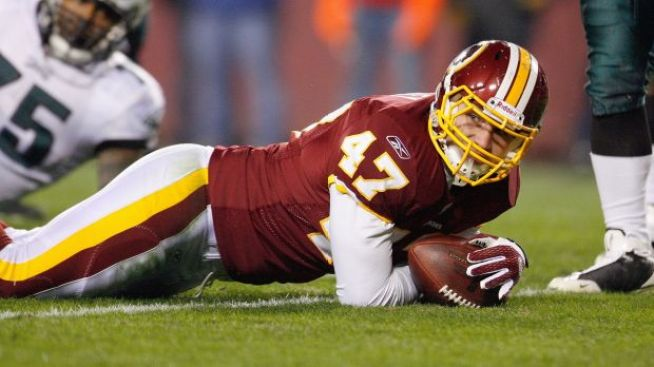 "NFL ""Treats"" Chris Cooley For Blogging Mishap"