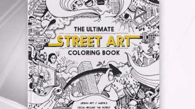 Local Artist Creates Coloring Book Based on Wynwood Walls - NBC 6 ...